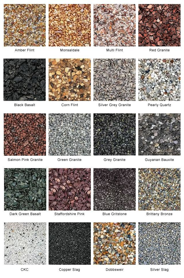 Resin Bound Stone And Aggregate Resin Bonded Stone And