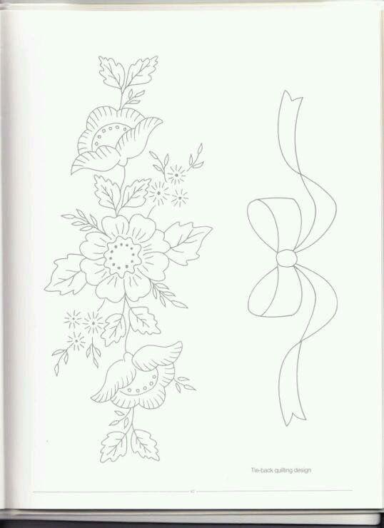 Pin de myriam en dibujos de flores | Pinterest | Bordado, Dibujo y ...