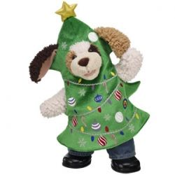 Pin By Tiffany C On Bearholiday Pinterest Contest Build A Bear Bear Christmas Tree Outfit