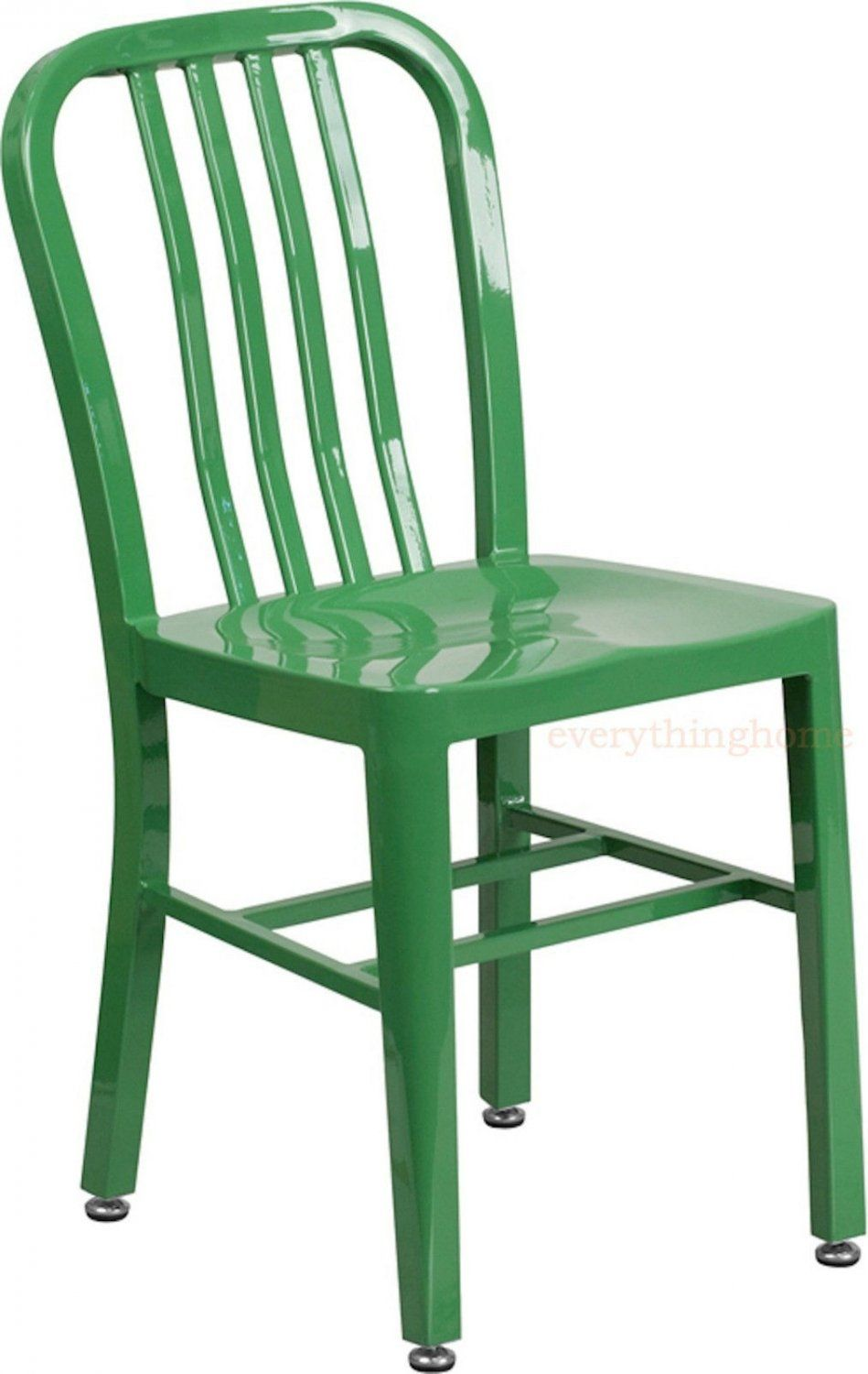 mid century green navy style dining chair cafe patio restaurant in rh pinterest com