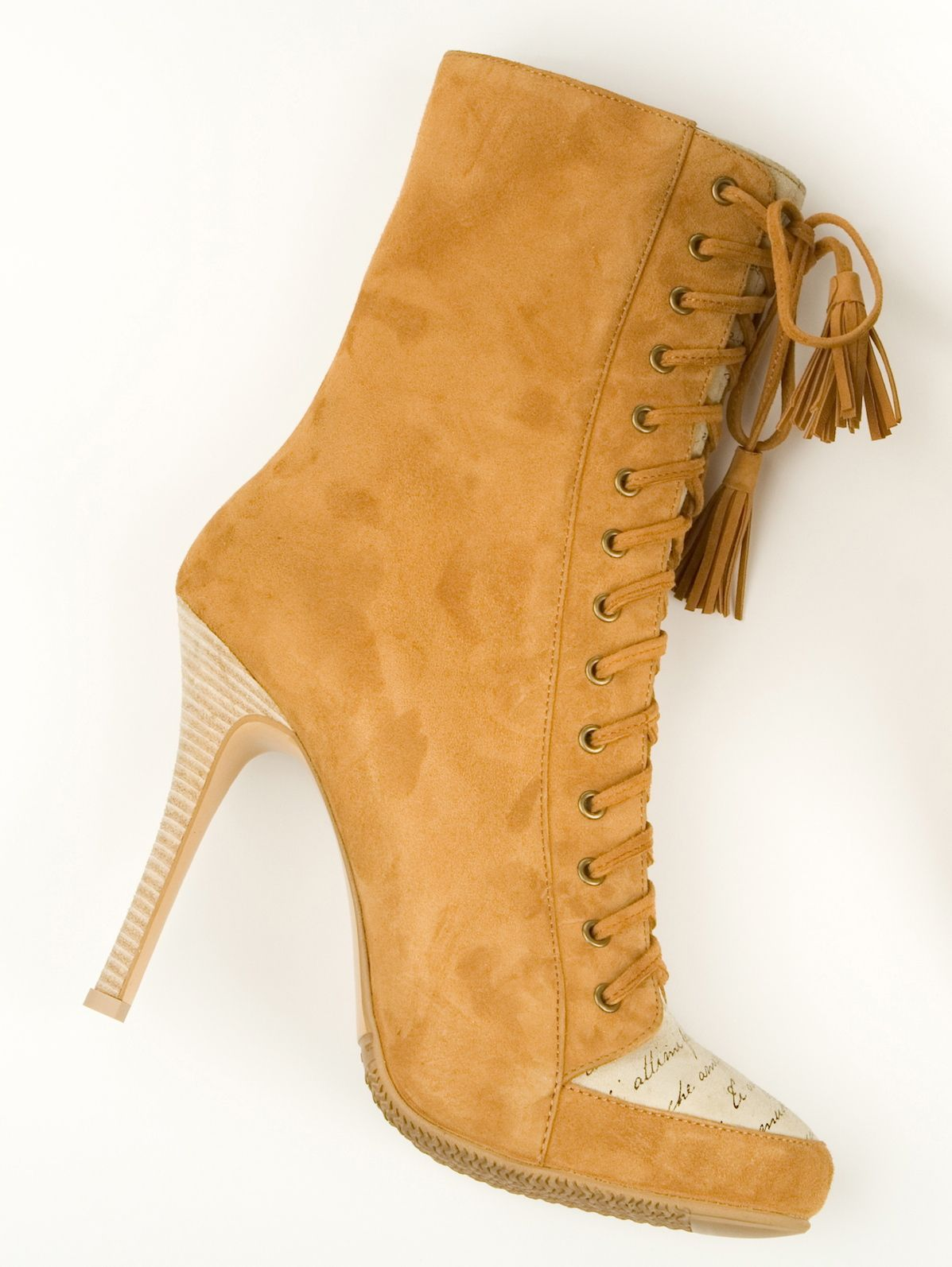 """""""Deserts of Namibia"""" :  suede boots"""