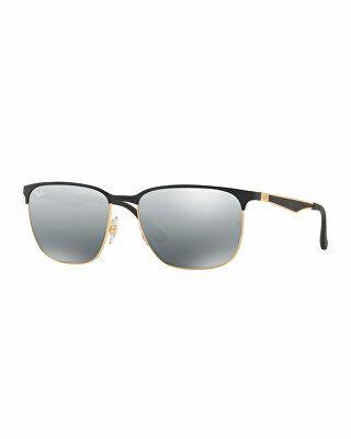 daf40474a3 Ray-Ban Designer Square Metal Sunglasses Oversized Sunglasses