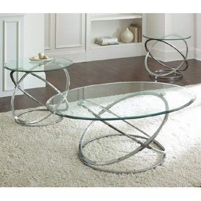 Get A Splendid Touch Of Spiral Glass Coffee Table Amazon Glass Coffee Table Latricedesigns Com Dining Room Inspiration Silver Coffee Table 3 Piece Coffee Table Set Glass Top Coffee Table