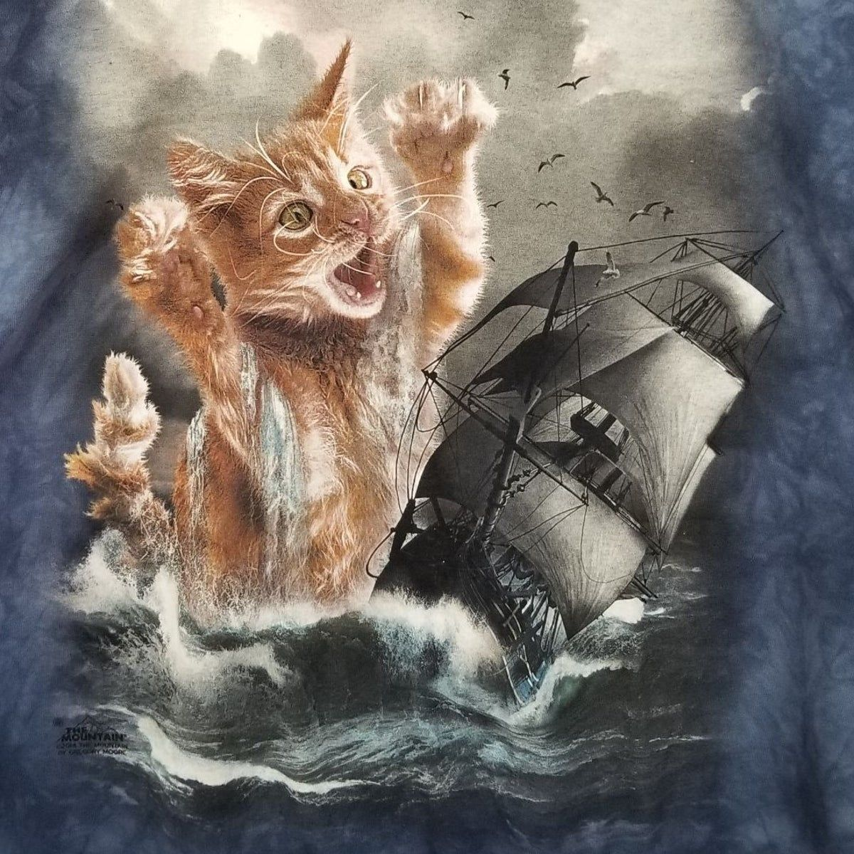 The Mountain Kraken Kitten Cat Ship Naut In 2020 Cats And Kittens Kitten Cats