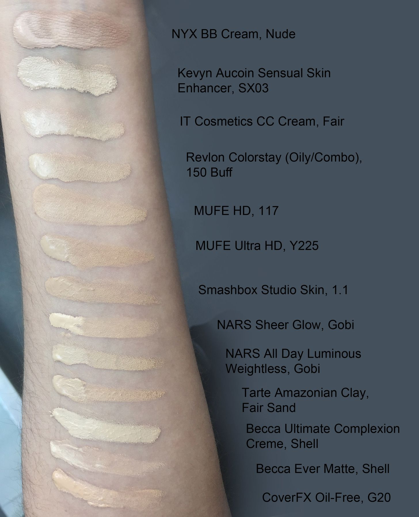 Makeup Forever Mat Velvet Vs Revlon Colorstay Mugeek