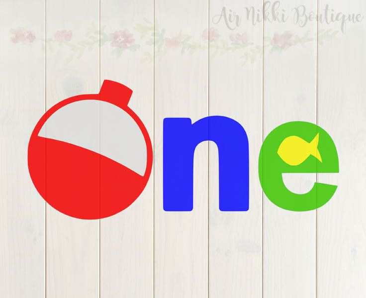 One With Bobber And Fish Fishing Birthday Svg Png Mirrored Etsy Fishing Birthday Fishing Bobber Bobber