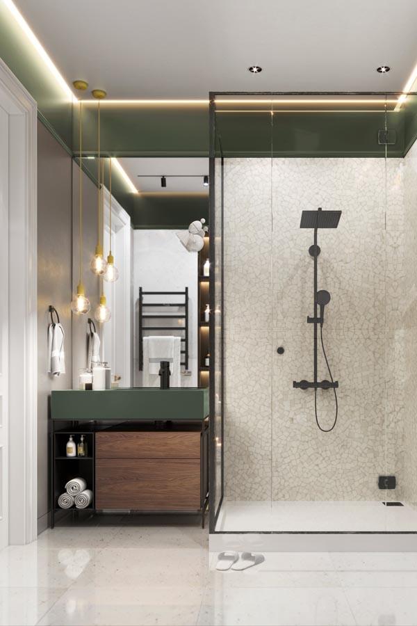 ديكور حمامات وتصاميم حمامات مودرن غاية في الفخامة ديكورات أرابيا In 2020 Bathroom Mirror Mirror Framed Bathroom Mirror