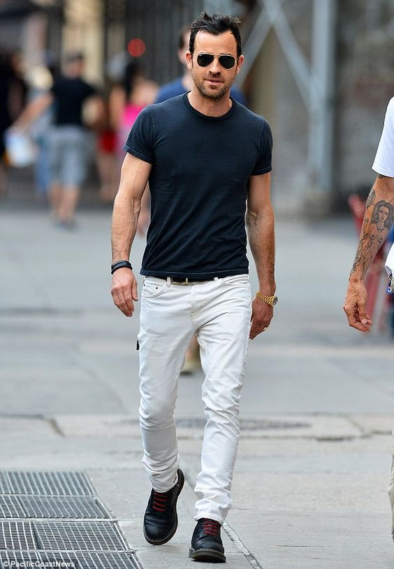 How To Wear White T shirt 7 Coolest Looks | Mens fashion