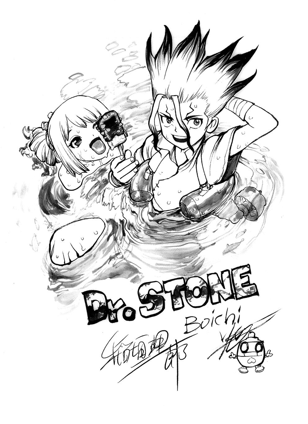 Senku Ishigami Image Gallery Dr Stone Wiki Fandom In 2020 Stone World Stone Wallpaper Stone