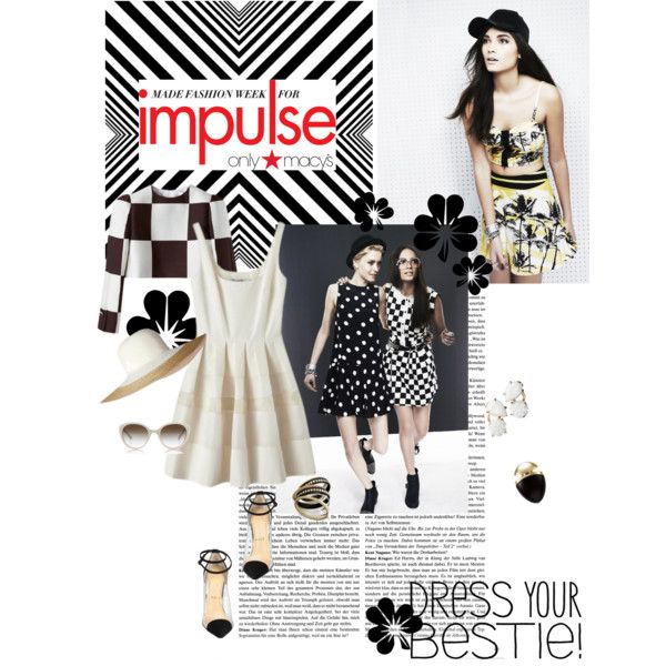 """Get Inspired with MADE Fashion Week for Impulse - only at Macy's"" by romihi on Polyvore"