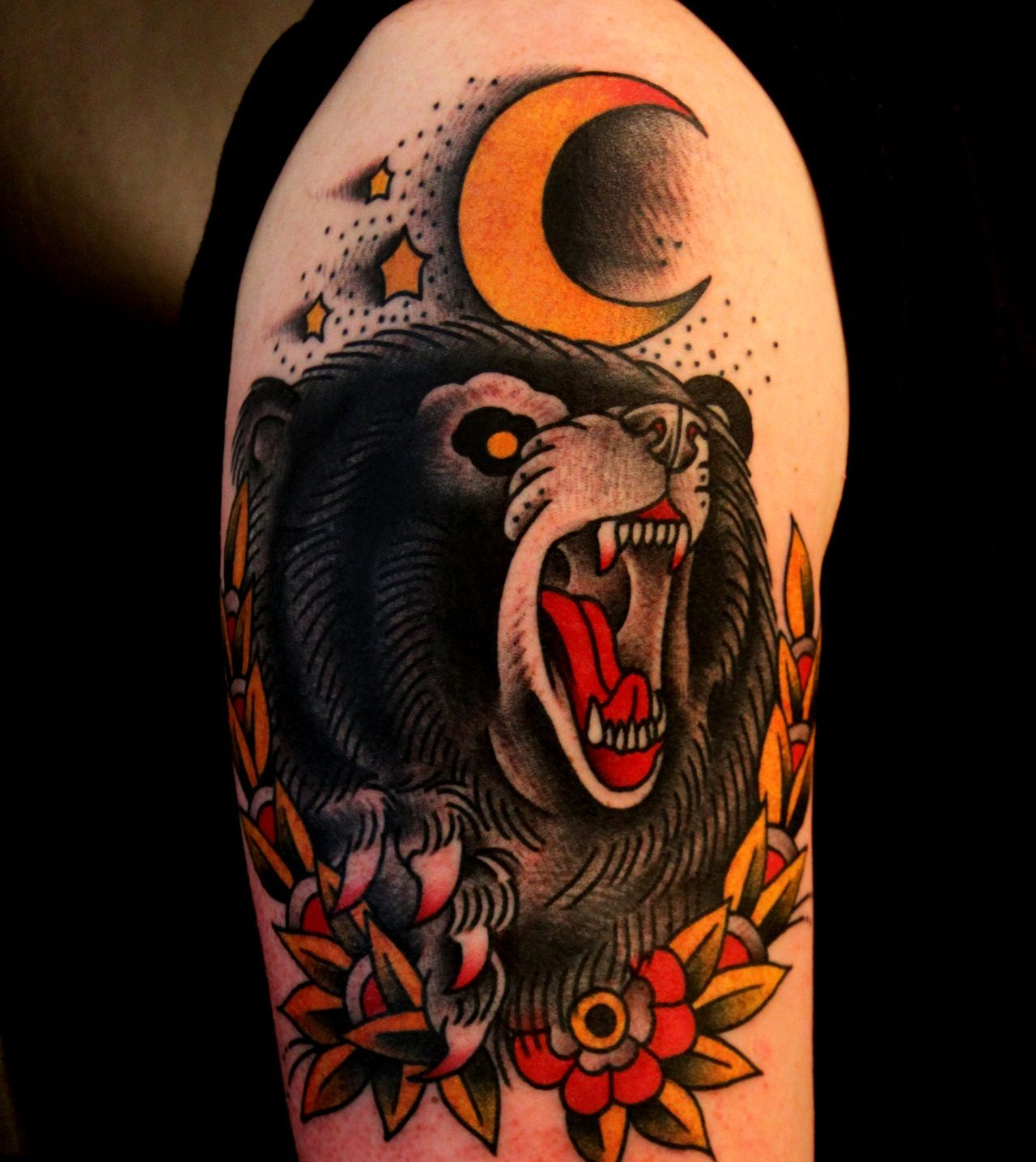 Traditional Bear Tattoo Designs | Tattoos | Pinterest ...