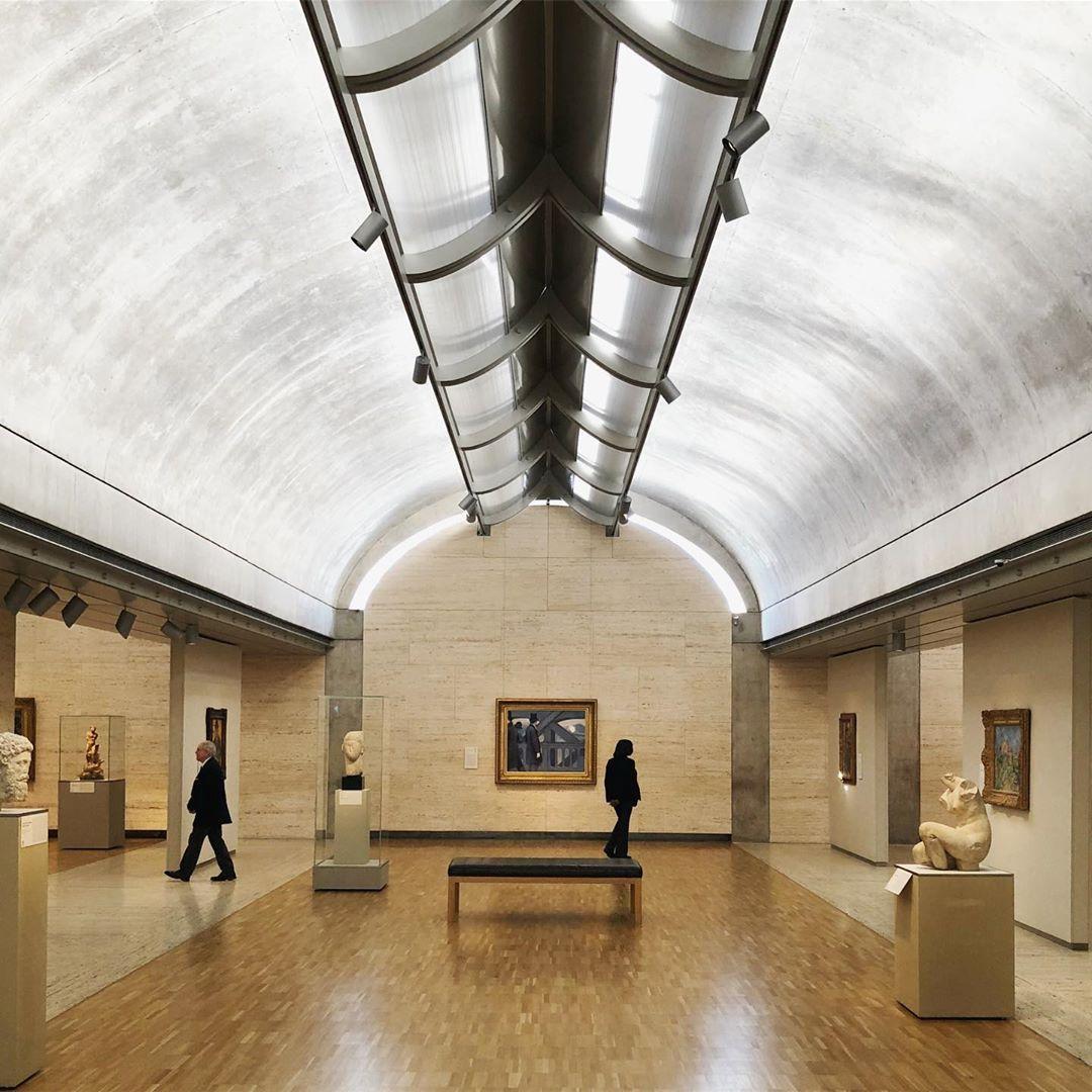 Sou Fujimoto On Instagram Kimbell Art Museum Light And Matter Melt Together Louis Kahn Art Museums Interior Museum Interior