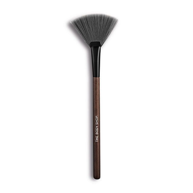 We're big fans (sorry) of this subtle shading brush – ideal with blushers & highlighters. Designed to master the art of subtle highlighting and complement our coveted range of essentials, our expert charcoal-coated make-up brushes take your look to the next level. While they might feel softer than a squirrel's tail, fear not. As you'd expect from The Body Shop they're 100% cruelty-free from their synthetic bristles down to their sustainably sourced FSC wooden handles.