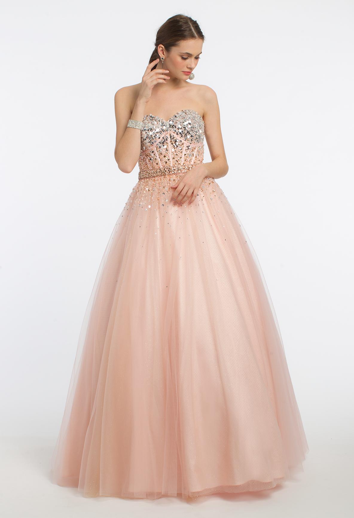 Nothing Under Prom Dress