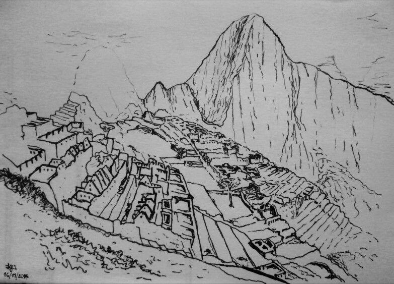 Machu Picchu Peru By Frederick Gorsten Tatuajes Tatuajes