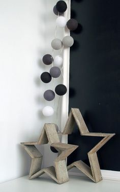 houten sterren | babykamer | pinterest | album, Deco ideeën