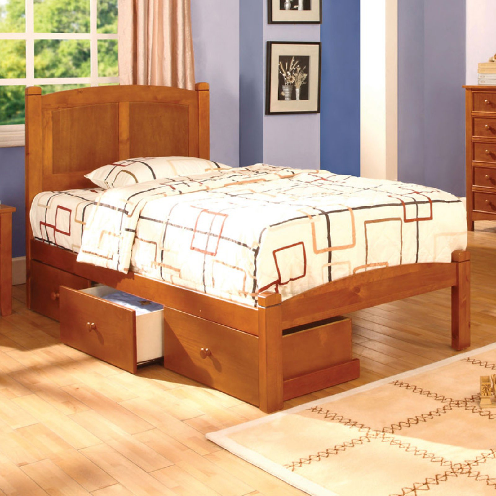 Brooklyn Cottage Style Platform Bed