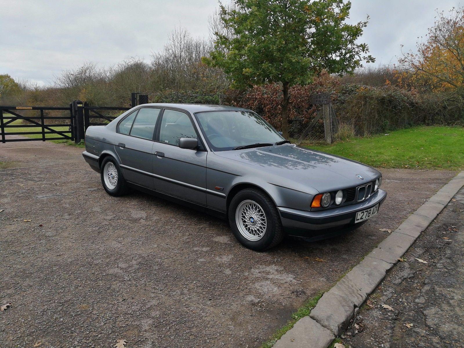 eBay: BMW E34 520I AUTO , LOW MILEAGE FOR YEAR,LONG MOT , RUST ...