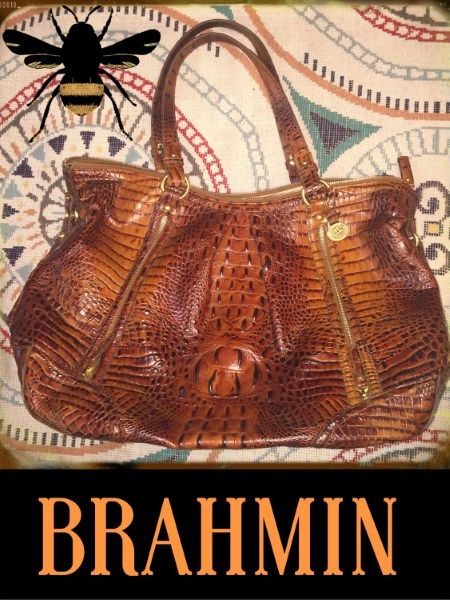 This Beautiful Brahmin Melbourne Bag Has Us Swooning You Could Not Ask For A More Gorgeous