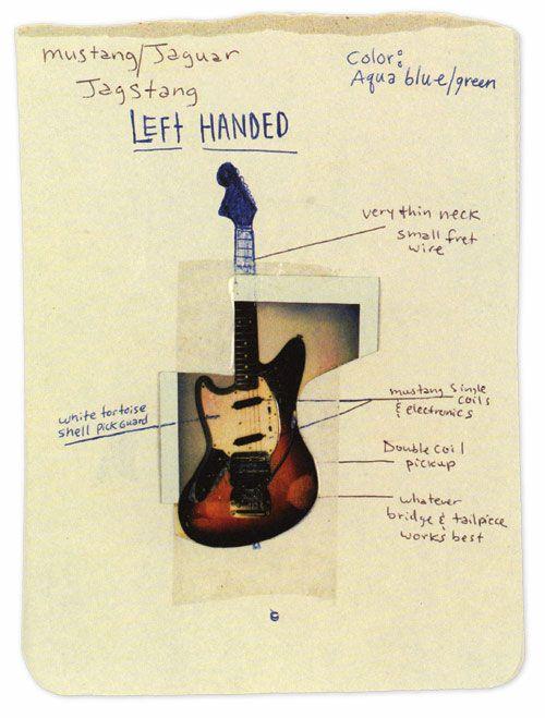 Kurts Cobains Jagstang Original Idea Things I Like