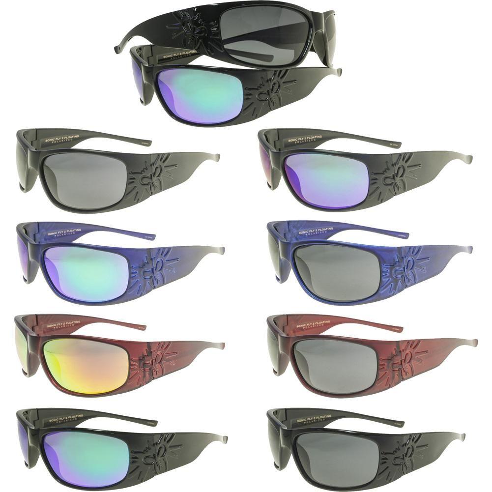 6054405995df Inked Boutique - Black Flys Sonic Fly 2 Floating Polarized Sunglasses  www.inkedboutique.com