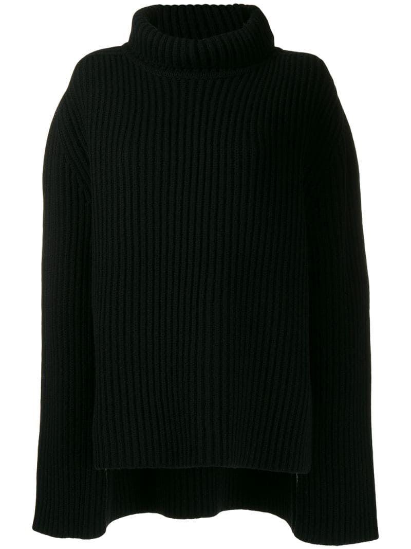 Joseph chunky knit jumper - Black #chunkyknitjumper