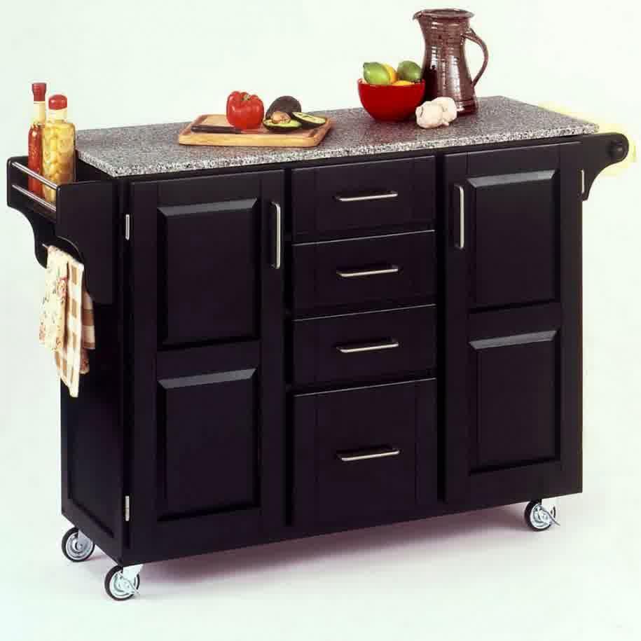 Moveable Kitchen Island Efficient : Movable Kitchen Island Elegant ...