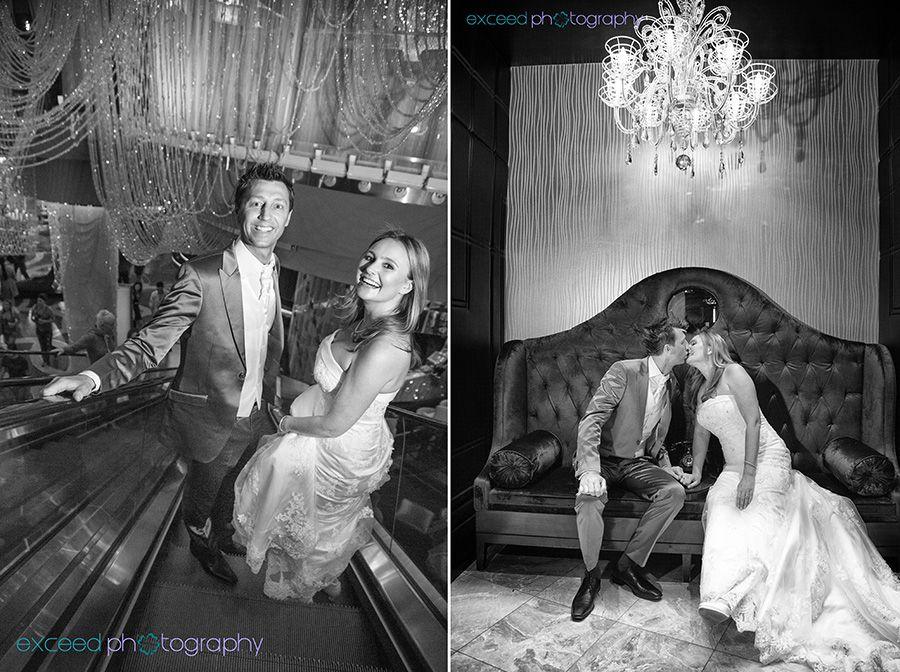 Las Vegas Strip Wedding Photo Tour Sign Exceed Photography Cosmopolitan Hotel