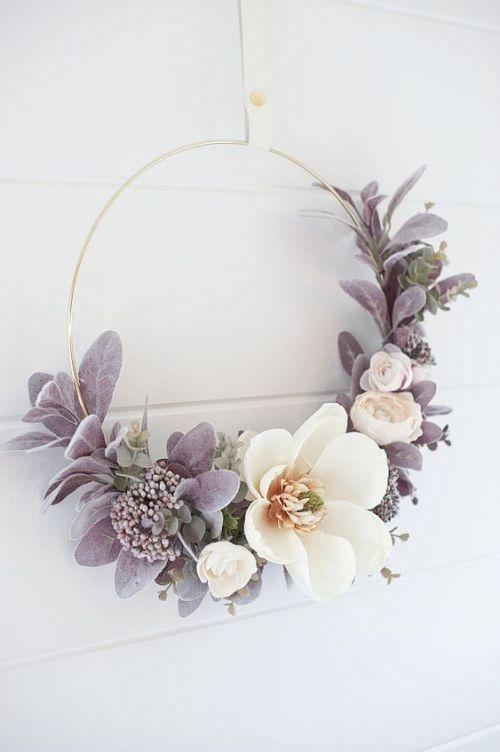 Photo of Tie autumn wreaths – current 60 ideas for autumn 2018
