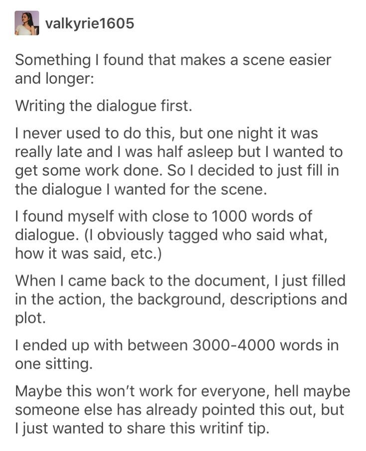 An Idea To Change Up Your Writing Process