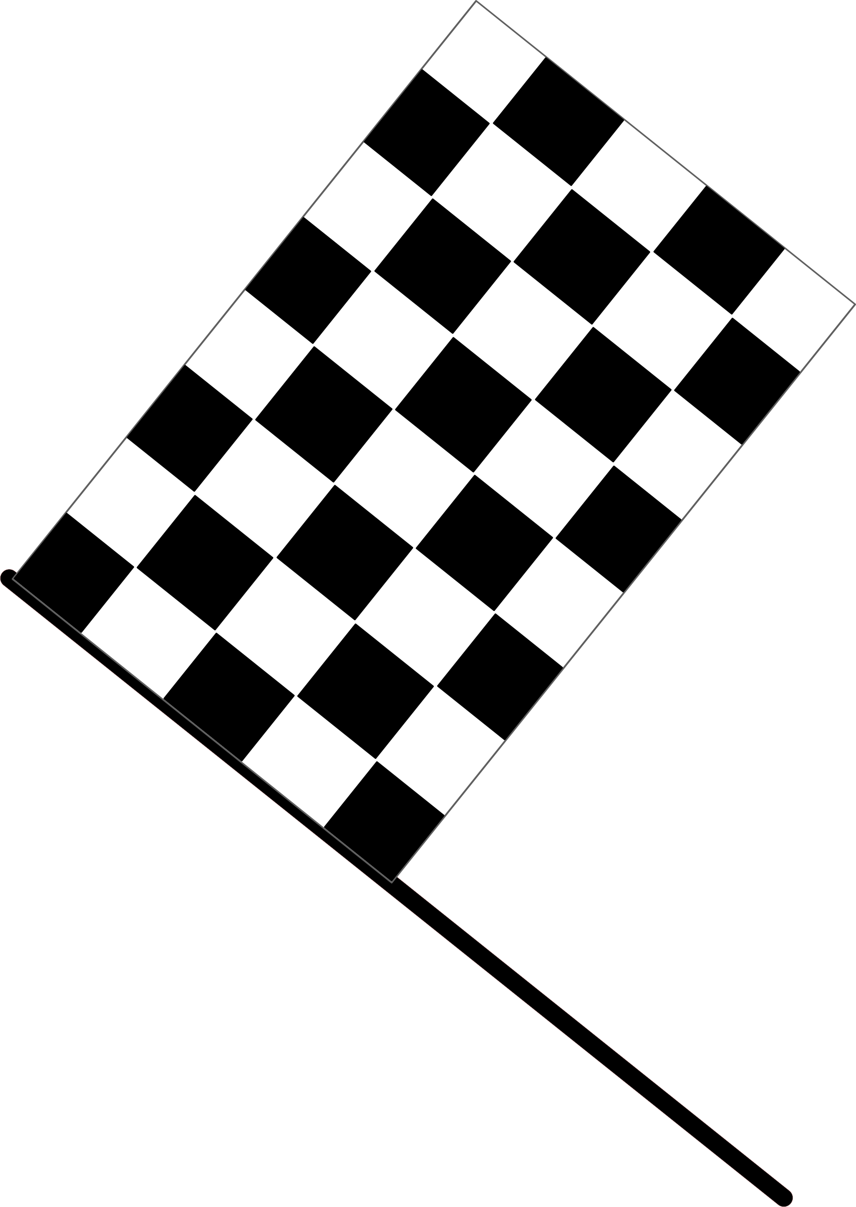 Checkered flag (With images) Vector free, Flag crafts