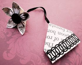 Flower Bookmark!