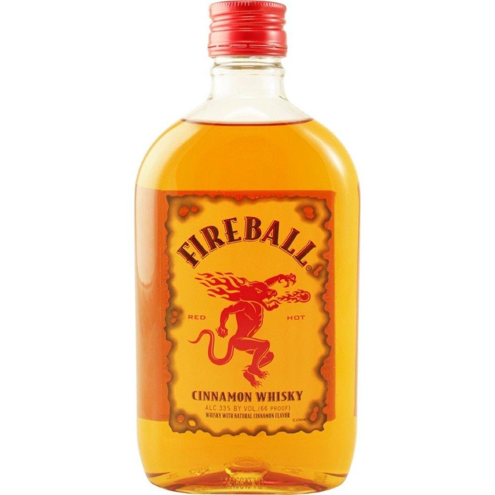 Fireball Cinnamon Whisky 375ml Plastic Bottle Plastic Bottles