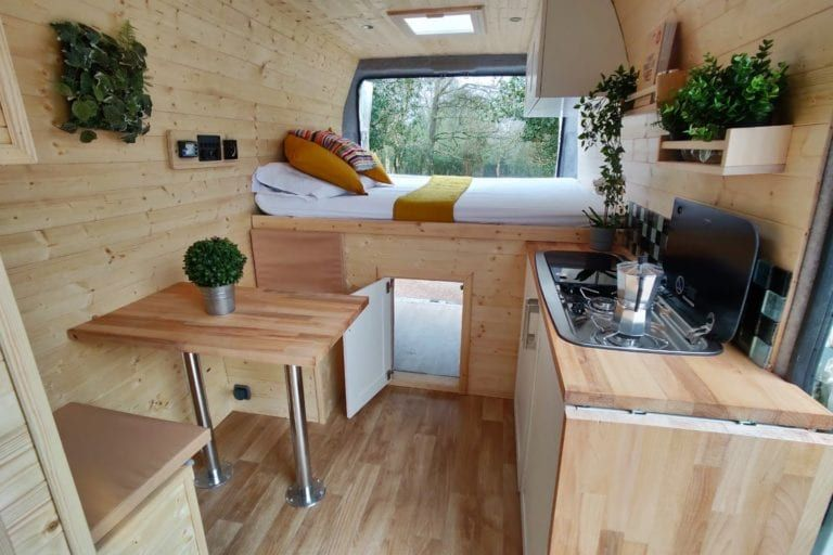 Photo of Campervan Hire ⋆ Quirky Campers ⋆ Home of Handmade Campers