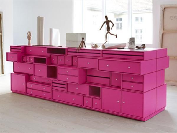 Badezimmerschrank Schubladen ~ Wohnzimmer montana möbel living pink schrank schubladen strahlend
