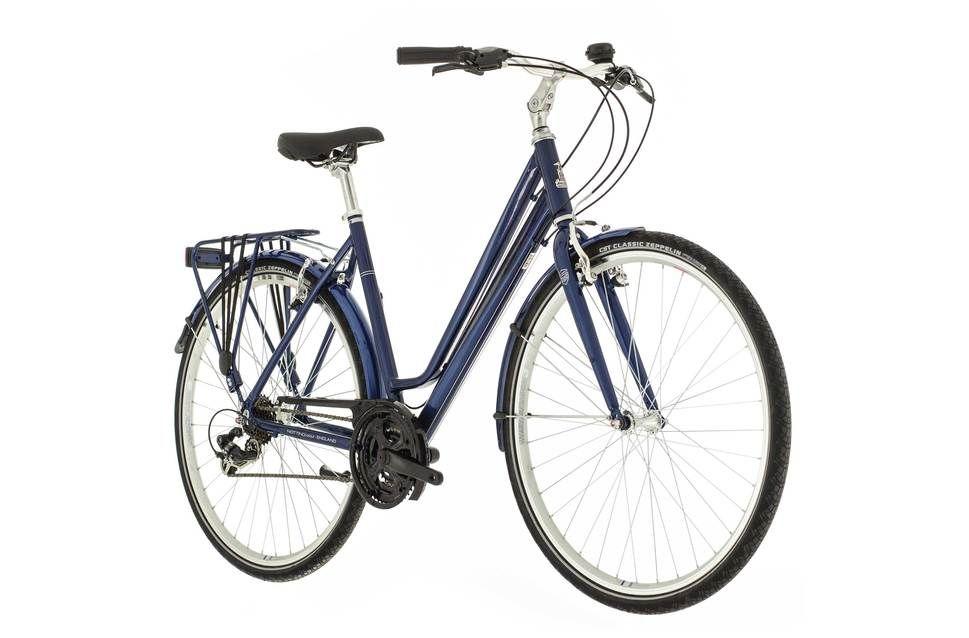 Raleigh Pioneer 1 2017 Womens Hybrid Bike Blue Ev293437 5000