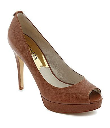 Michael Michael Kors York Platform Pumps #Dillards