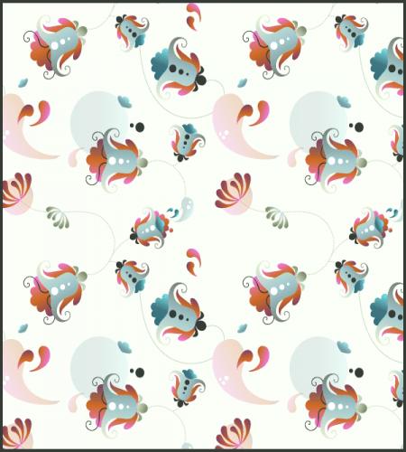 باترن فوتوشوب ورود وزهور جميله Illustration Graphic Design Logo Background Patterns