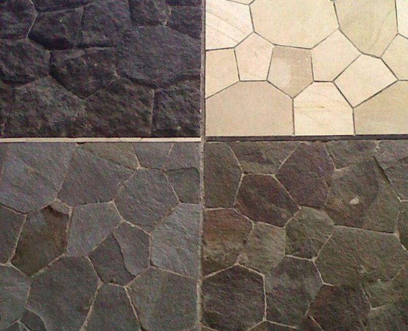 Keramik Motif Batu Alam Untuk Dinding Depan
