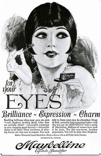 Maybelline Eyelash Beautifier, March 1928 | by The Bees Knees Daily