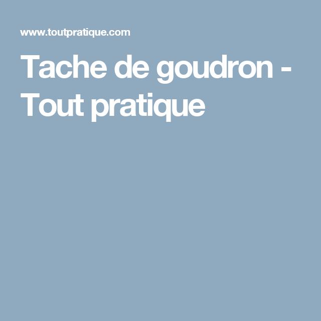 Tache De Goudron Comment Enlever Les Taches De Goudron Douleur Genou Tendinite Genou Tout Pratique