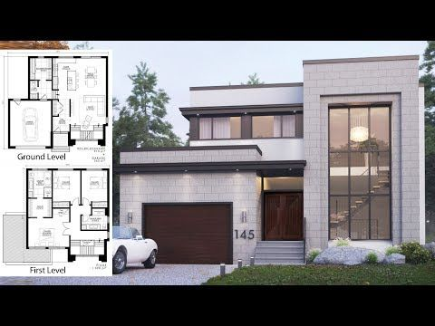 We Were Inspired By The Elegance And Sobriety Of The Art Deco Style For The Design Of Our House Architecture Design Architectural House Plans House Blueprints