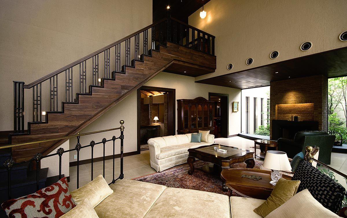 緑豊かでクラシカルな家 建築実例 高級注文住宅 アーネスト