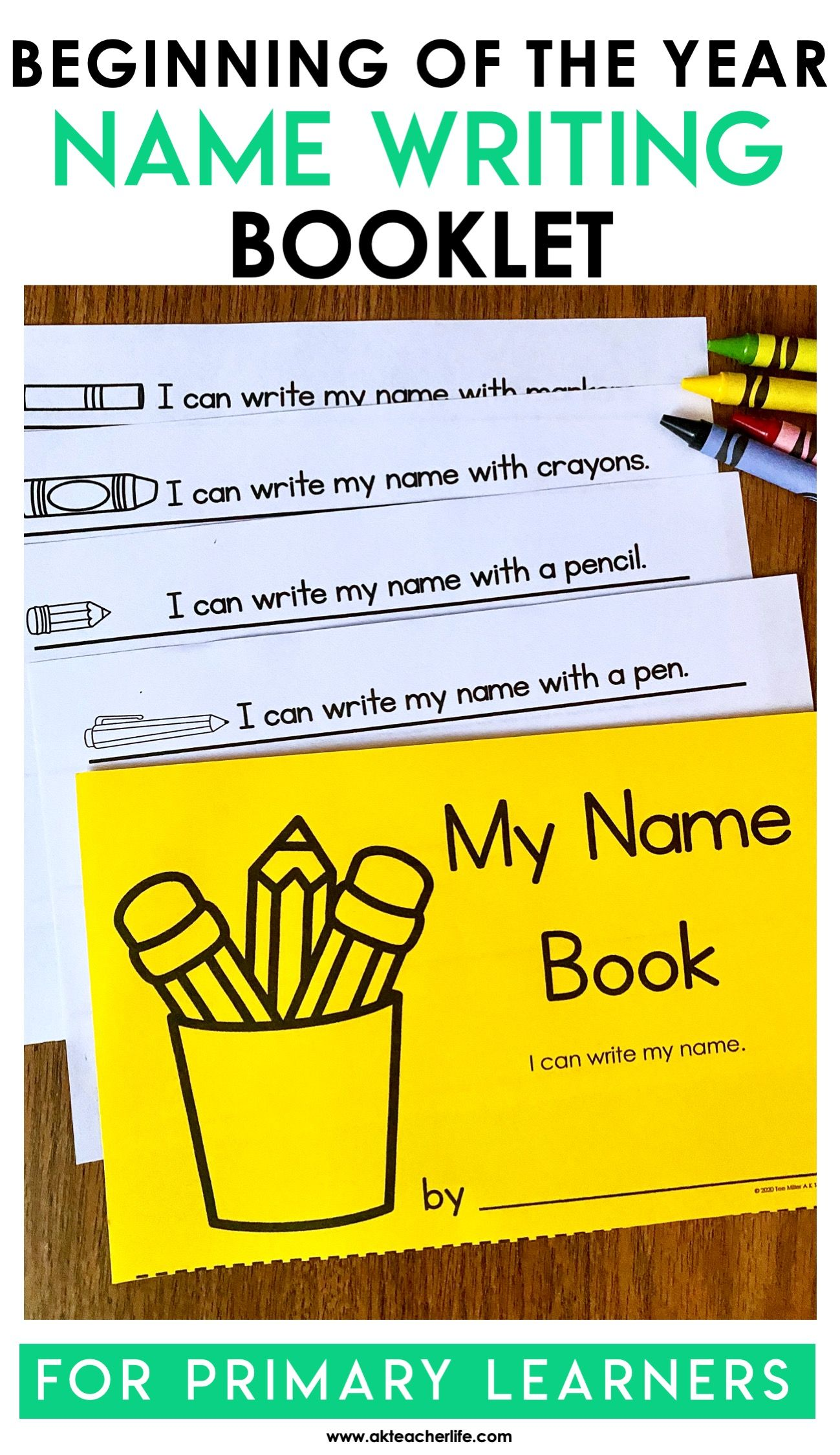 Name Writing Booklet Freebie Students Practice Writing Their Names Using Different Writing Tools Writing Activities For Preschoolers Writing Practice Preschool Name Writing Practice [ 2249 x 1299 Pixel ]