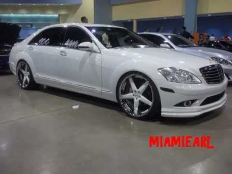 Black And White Mercedes Benz S550 Amg On 22 S Mercedes Benz