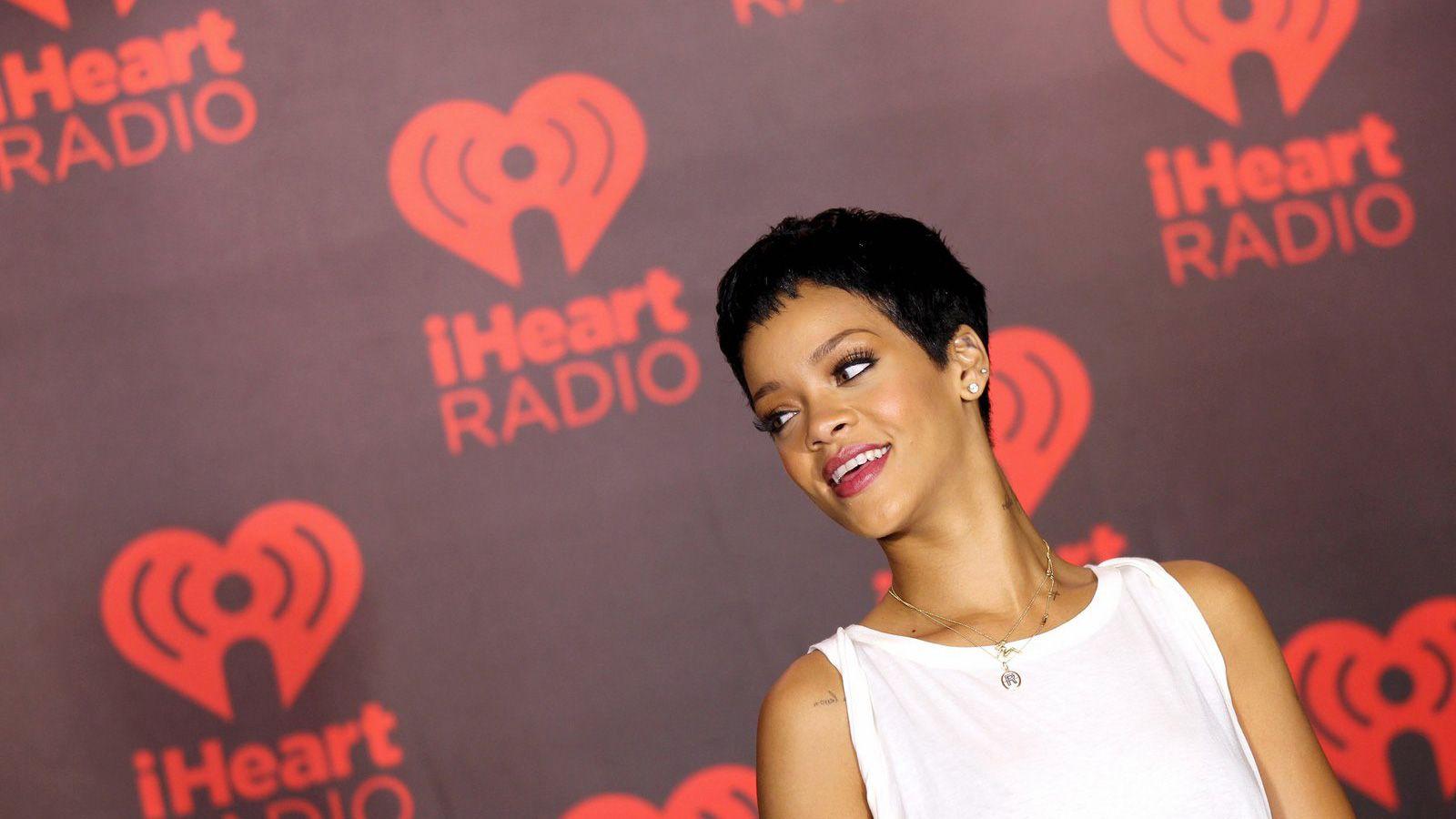 Rihanna at iHeart Radio Robyn Rihanna Fenty Album