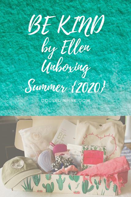 Ellen 2020 Halloween BE KIND by Ellen Summer Subscription Box in 2020   Subscription