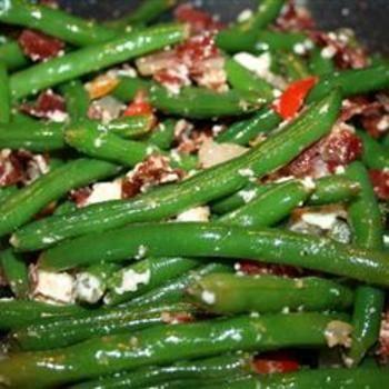 Bacon Feta Beans