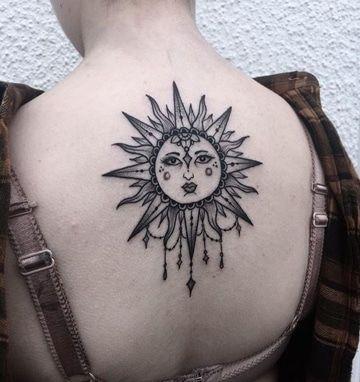 Feminidad En Los Tatuajes De Soles Para Mujeres Tatu Sun Tattoos