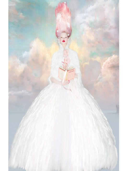 Karlie Kloss: Sweet Escape - W by Nick Knight, October 2012